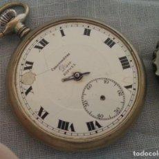 Relojes de bolsillo: RELOJ ANTIGUO DE BOLSILLO. MARCA DOU RIPOLL.. Lote 221868398