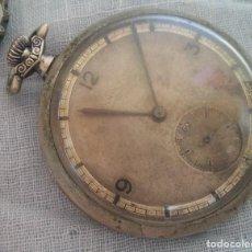 Relojes de bolsillo: RELOJ DE BOLSILLO ANTIGUO. TRES CAPAS. Lote 221934101