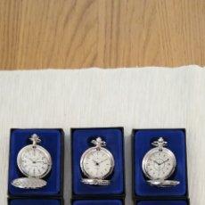 Relojes de bolsillo: 6 RELOJES DE BOLSILLO. Lote 221990691