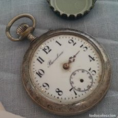 Relojes de bolsillo: RELOJ ANTIGUO DE BOLSILLO. INSCRIPCIÓN BARCELONA.. Lote 221998867