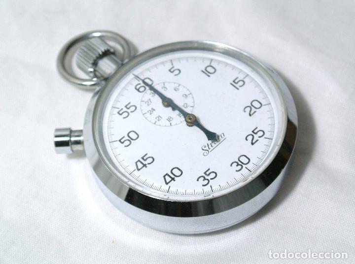Relojes de bolsillo: CRONOMETRO STRATO DE CUERDA , FUNCIONANDO PERFECTAMENTE - Foto 2 - 222193501