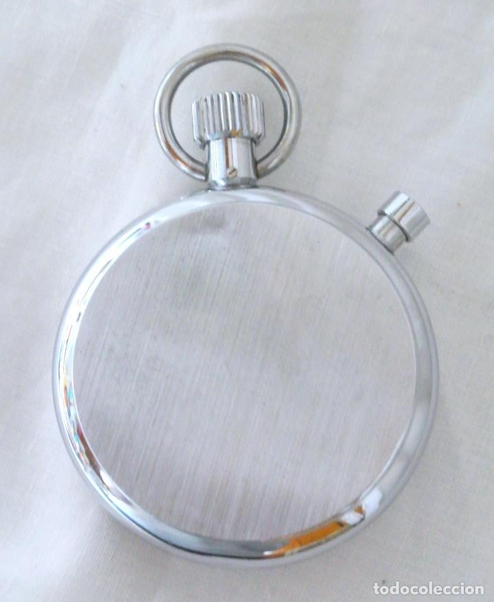 Relojes de bolsillo: CRONOMETRO STRATO DE CUERDA , FUNCIONANDO PERFECTAMENTE - Foto 4 - 222193501