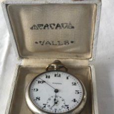 Relojes de bolsillo: RELOJ DE BOLSILLO SOLETTA JOYERÍA MERCADE DE VALLS. 1920'S. FUNCIONANDO.. Lote 222434371