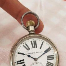 Relojes de bolsillo: RELOJ ANTIGUO CYMA TAVANNES GOLIAT MIDE 5.8CM BUEN ESTADO FUNCIONA ALTA COLECCIÓN. Lote 222589418