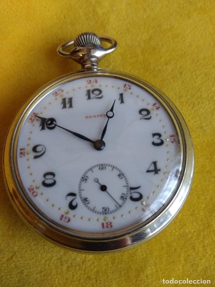 RELOJ DE BOLSILLO ZENITH (Relojes - Bolsillo Carga Manual)