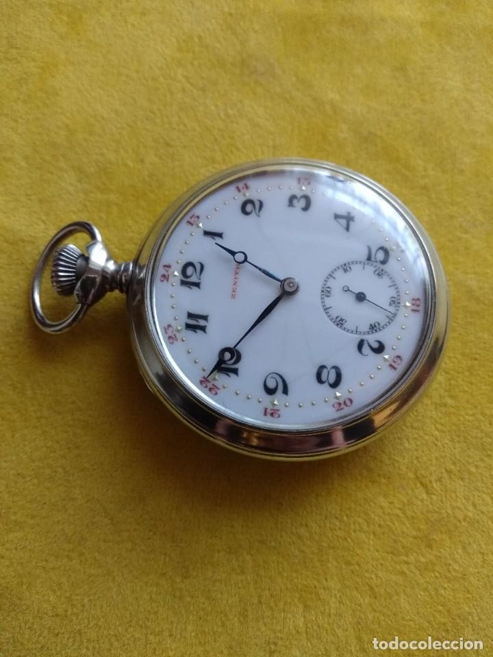 Relojes de bolsillo: Reloj de bolsillo ZENITH - Foto 2 - 222655452