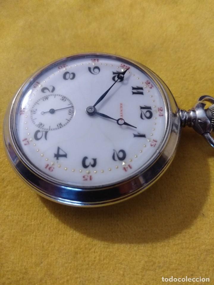 Relojes de bolsillo: Reloj de bolsillo ZENITH - Foto 3 - 222655452