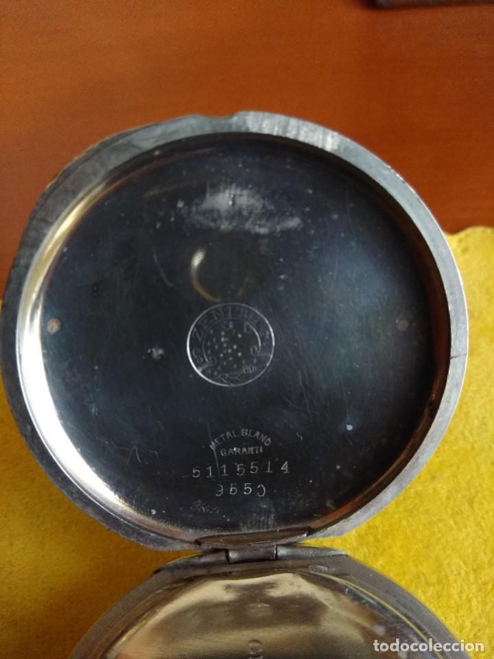 Relojes de bolsillo: Reloj de bolsillo ZENITH - Foto 6 - 222655452