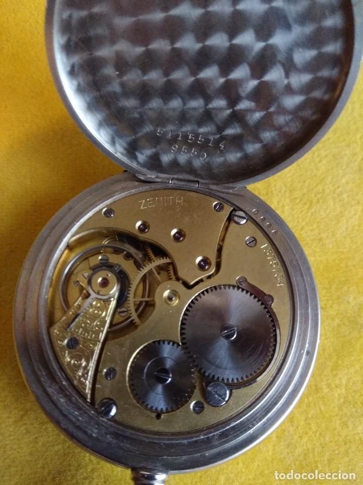 Relojes de bolsillo: Reloj de bolsillo ZENITH - Foto 9 - 222655452