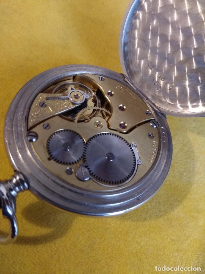 Relojes de bolsillo: Reloj de bolsillo ZENITH - Foto 10 - 222655452