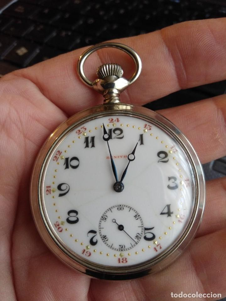 Relojes de bolsillo: Reloj de bolsillo ZENITH - Foto 12 - 222655452