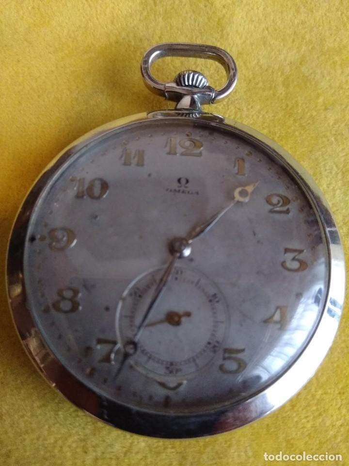 RELOJ DE BOLSILLO OMEGA (Relojes - Bolsillo Carga Manual)