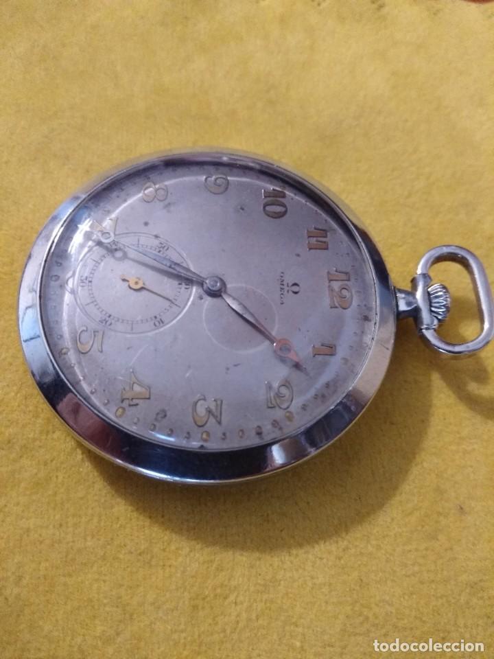 Relojes de bolsillo: Reloj de bolsillo OMEGA - Foto 3 - 222659392