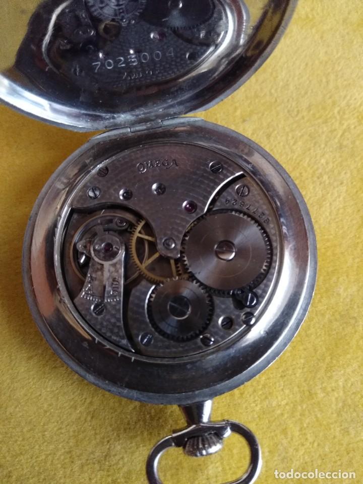 Relojes de bolsillo: Reloj de bolsillo OMEGA - Foto 9 - 222659392