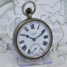 Relógios de bolso: H.STONE-RECORD-RELOJ DE BOLSILLO-SUIZO-CIRCA 1920-FUNCIONANDO. Lote 222704766