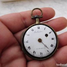 Relojes de bolsillo: RELOJ DE BOLSILLO CATALINO SALAIRE A PARIS 1800 APROX.. Lote 223506241