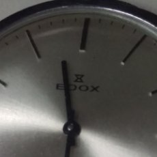 Relojes de bolsillo: RELOJ EDOX DE BOLSILLO ORIGINAL A CUERDA SWISS MADE VER FOTOS. Lote 223572173