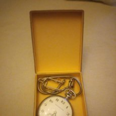Relojes de bolsillo: ANTIGUO RELOJ DE BOLSILLO CRONO CRONÓGRAFO EXCELSIOR PARK, Nº 659543,CON CADENA INCLUIDA.. Lote 223729845
