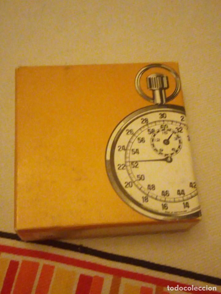 Relojes de bolsillo: Antiguo reloj cronógrafo de bolsillo jodler club tramelan ,swiss made 1821 -1971,muy decorado.40s - Foto 10 - 223732157
