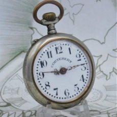 Relojes de bolsillo: CORTEBERT-RELOJ DE BOLSILLO-ROSKOPF-SUIZA-CIRCA 1900-FUNCIONANDO. Lote 224448998