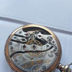 Relojes de bolsillo: CURIOSO RELOJ DE BOLSILLO AMERICANO? TAPAS A ROSCA VER FOTOS MAQUINA CANTON. Lote 225276535