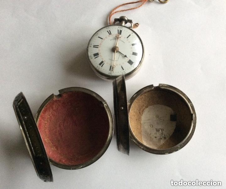 HIGGS EVANS LONDON, SIGLO XVIII RELOJ DE BOLSILLO (Relojes - Bolsillo Carga Manual)