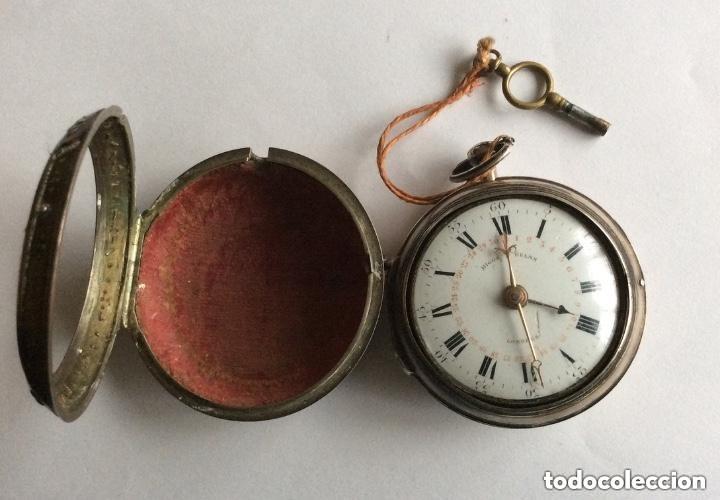 Relojes de bolsillo: HIGGS EVANS LONDON, SIGLO XVIII RELOJ DE BOLSILLO - Foto 4 - 226025345