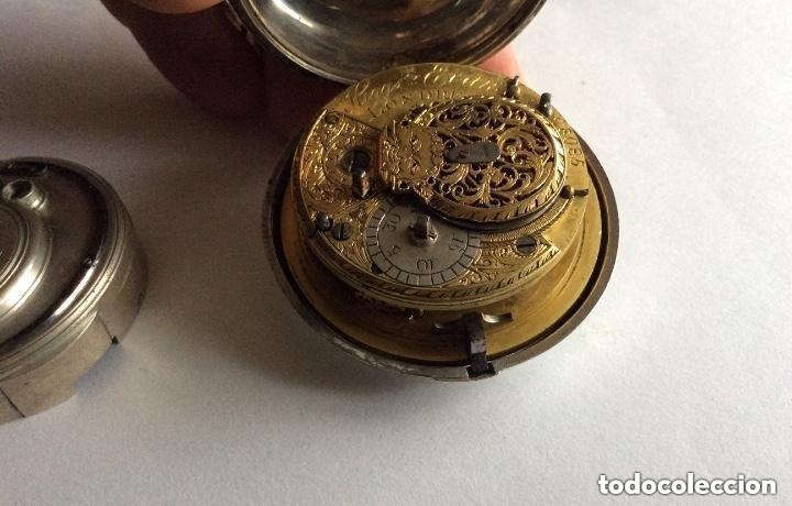 Relojes de bolsillo: HIGGS EVANS LONDON, SIGLO XVIII RELOJ DE BOLSILLO - Foto 5 - 226025345