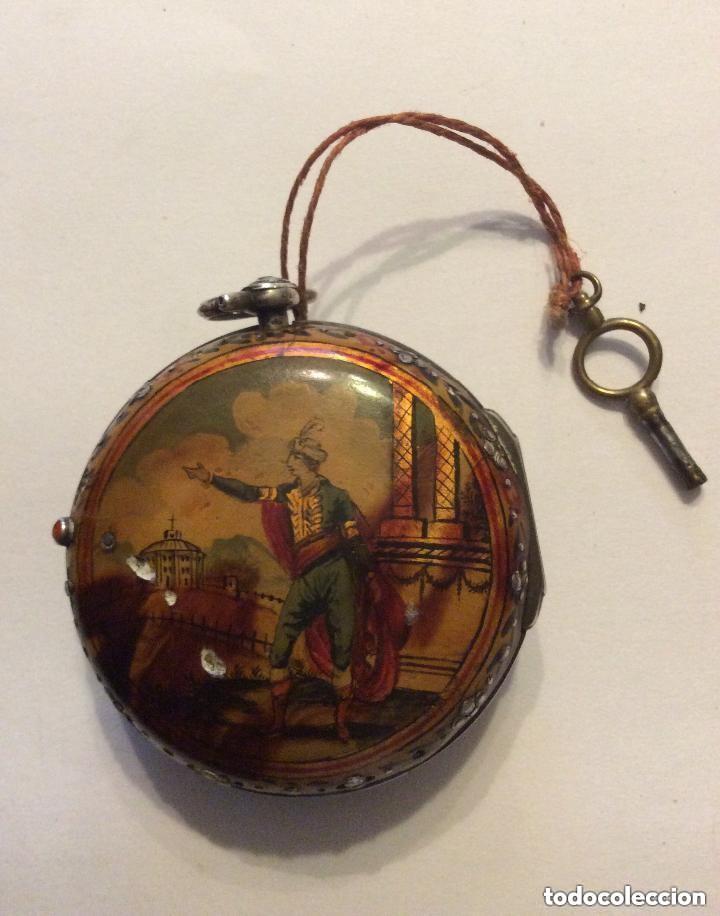 Relojes de bolsillo: HIGGS EVANS LONDON, SIGLO XVIII RELOJ DE BOLSILLO - Foto 6 - 226025345