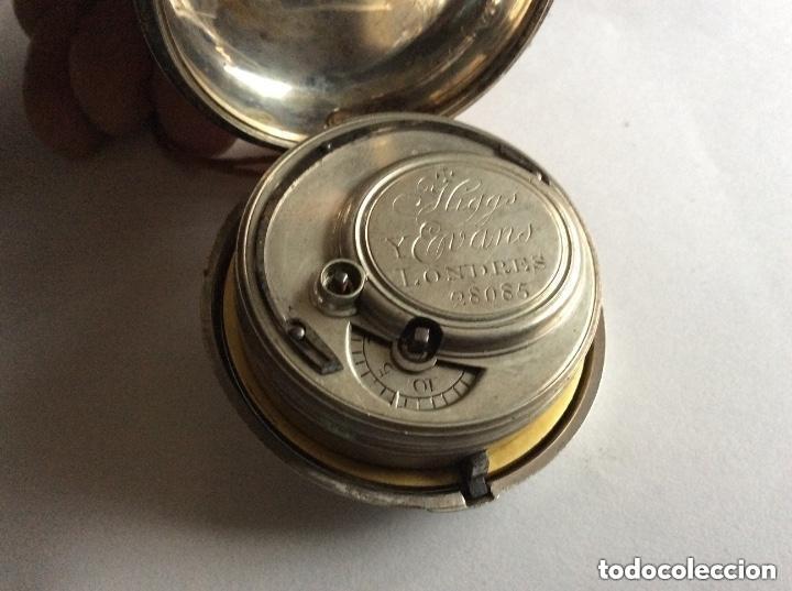 Relojes de bolsillo: HIGGS EVANS LONDON, SIGLO XVIII RELOJ DE BOLSILLO - Foto 10 - 226025345