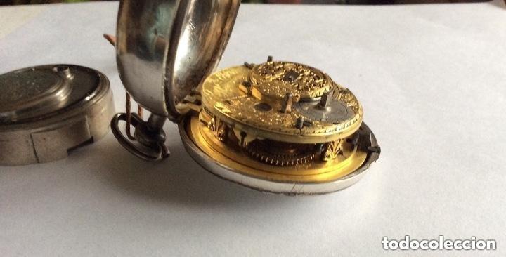 Relojes de bolsillo: HIGGS EVANS LONDON, SIGLO XVIII RELOJ DE BOLSILLO - Foto 12 - 226025345