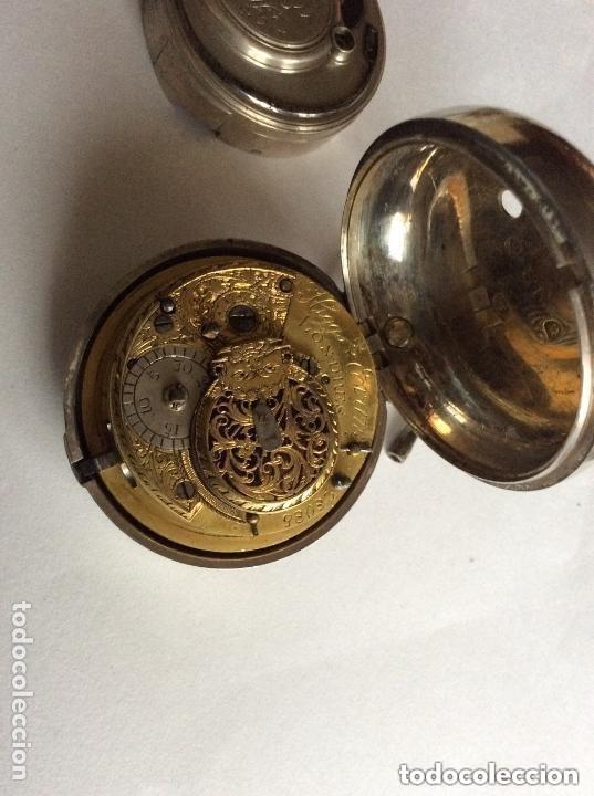 Relojes de bolsillo: HIGGS EVANS LONDON, SIGLO XVIII RELOJ DE BOLSILLO - Foto 14 - 226025345