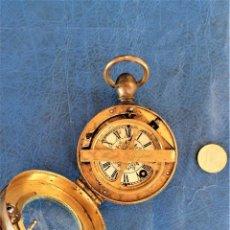 Relojes de bolsillo: ANTIGUO RELOJ PORTATIL DE VIGILANCIA-FERROCARRIL,SIGLO XIX,J.BÜRK-ORIGINAL,RAREZA RELOJERIA,GOLIAT. Lote 226428240