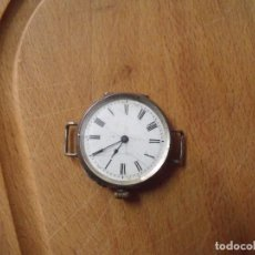 Relojes de bolsillo: ANTIGUO RELOJ BOLSILLO-PLATA- PARA LLEVAR COMO PULSERA-AÑO 1890- LOTE 256-FUNCIONA. Lote 226594090