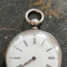 Relojes de bolsillo: ANTIGUO RELOJ BOLSILLO TIPO INGLES- LOTE 323-. Lote 227765145