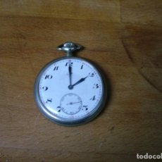 Relojes de bolsillo: ANTIGUO RELOJ BOLSILLO-LIP- AÑO 1910- FUNCIONA BIEN-LOTE 259-1-CAJA EN NICKEL. Lote 228654105