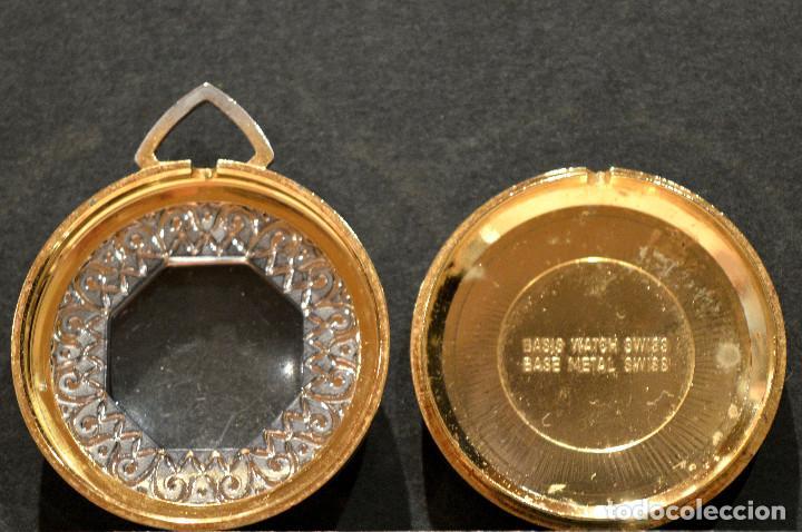 Relojes de bolsillo: RELOJ SUIZO DE BOLSILLO O COLGANTE CARGA MANUAL MARCA LUCERNE SWISS MADE - Foto 8 - 195658645