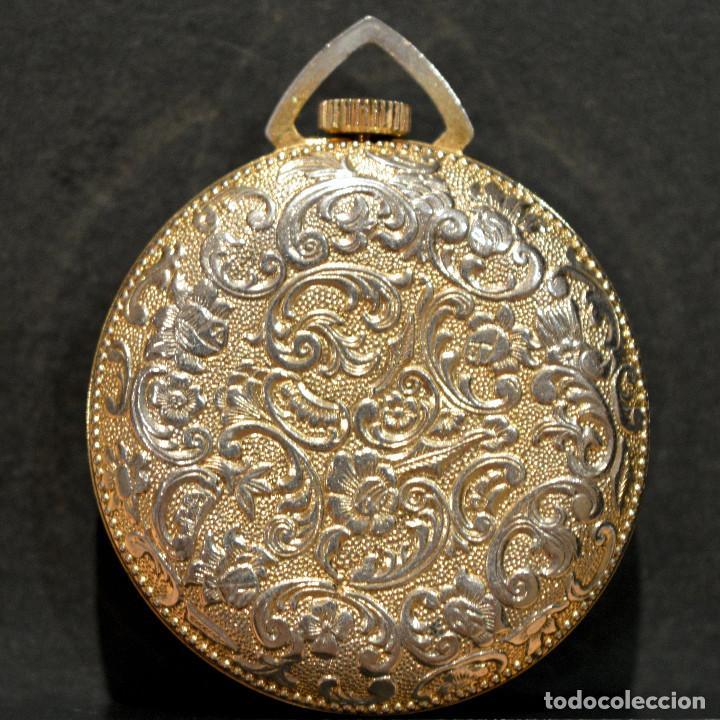 Relojes de bolsillo: RELOJ SUIZO DE BOLSILLO O COLGANTE CARGA MANUAL MARCA LUCERNE SWISS MADE - Foto 3 - 195658645