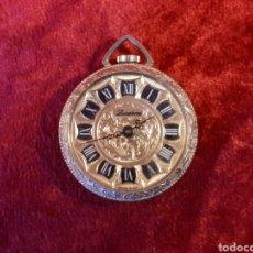 Relógios de bolso: RELOJ DE BOLSILLO LUCERNE. MAQUINARIA DE UN RUBÍ Y FABRICACIÓN SUIZA. FUNCIONANDO. Lote 229027535