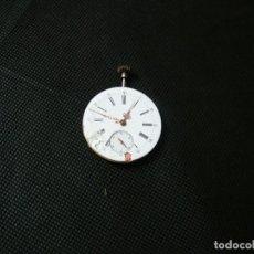 Relojes de bolsillo: ANTIGUA MAQUINARIA PARA RELOJ BOLSILLO FUNCIONANDO- LOTE 259. Lote 229214415