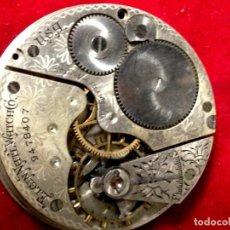 Relojes de bolsillo: RELOJ DE BOLSILLO AÑO 1902 GRADO 210 ELGIN 7 JOYAS ESFERA DE 43MM. BUEN EQUILIBRIO. Lote 229916665