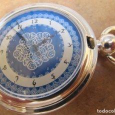 Relojes de bolsillo: RELOJ DE BOLSILLO DE CUERDA CON SU ESFERA PINTADA. Lote 230294815