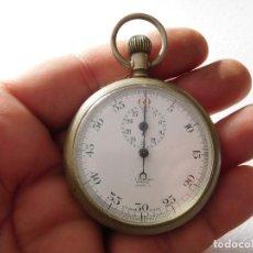 Relojes de bolsillo: CRONO ANTIGUO ESFERA DE PORCELANA STEWARD LONDON PARK WATCH. Lote 230584900