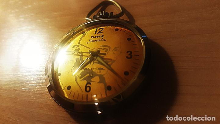 EN MEMORIA DE INDIRA GANDI (Relojes - Bolsillo Carga Manual)