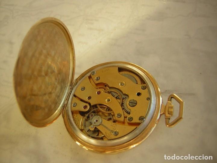 Relojes de bolsillo: RELOJ DE BOLSILLO LIP DE ORO 18 KT (KILATES) AÑO 1905-1910 - Foto 4 - 234914590