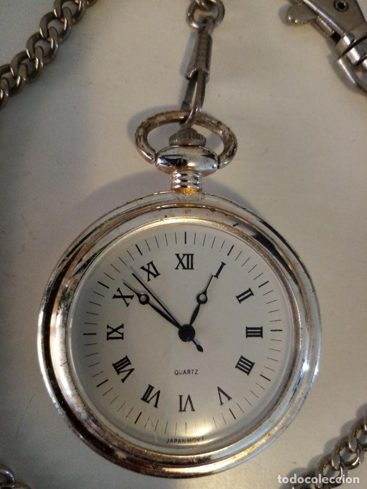 Relojes de bolsillo: RELOJ DE BOLSILLO MOVIMIENTO MIOTA Y CO QUARZO - Foto 2 - 235361065