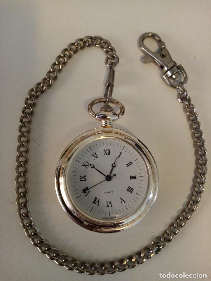 RELOJ DE BOLSILLO MOVIMIENTO MIOTA Y CO QUARZO (Relojes - Bolsillo Carga Manual)