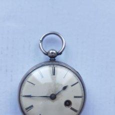 Relojes de bolsillo: RELOJ CATALINO FUSEE CIRCA 1800 PLATA PROYECTO RESTAURACION 44MM. Lote 235711435