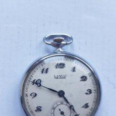 Relojes de bolsillo: LANCO MECANICO DE BOLSILLO 46.5MM SUIZO. Lote 235712460