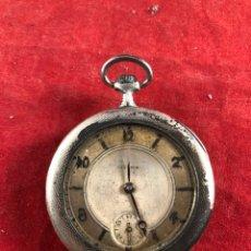 Orologi da taschino: ANTIGUO RELOJ DE BOLSILLO DE PLATA JUVENIA PARA REPASAR. Lote 236119110